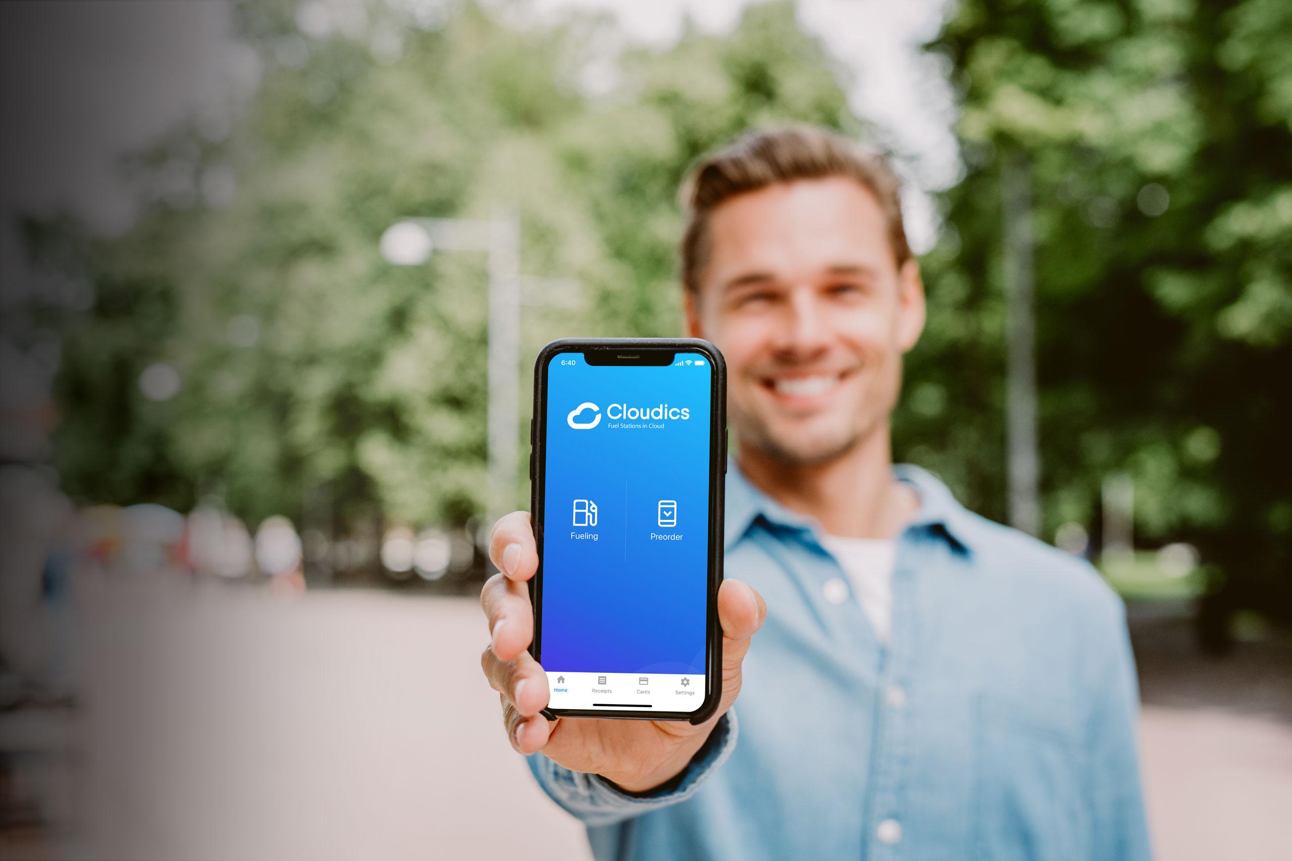 cloudics mobile payment application