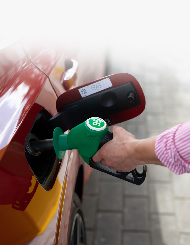 mobile payment in fuel station